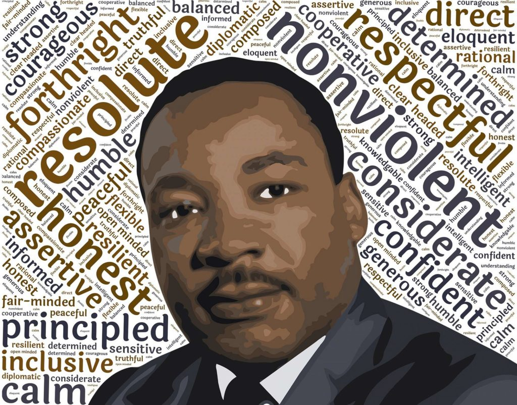 """Life's most persistent and urgent question is, 'What are you doing for others?"" ― Martin Luther King Jr."